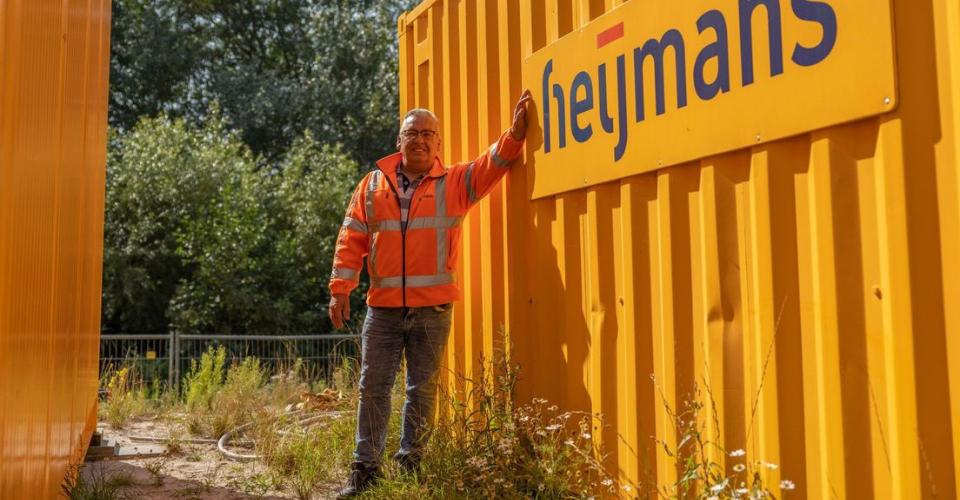 deelnemer power cv aan het werk bij Heijmans - bron omroep west